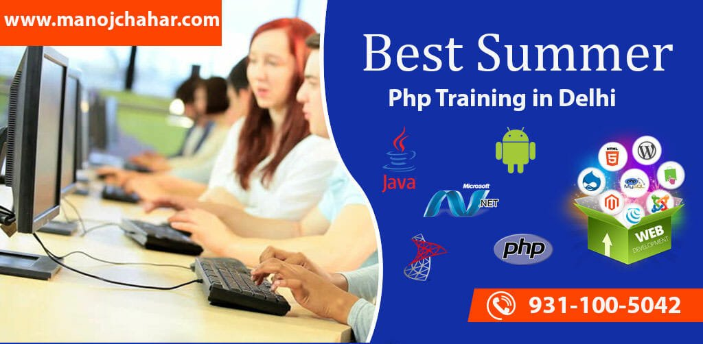 Live Project Php Summer Training in Delhi