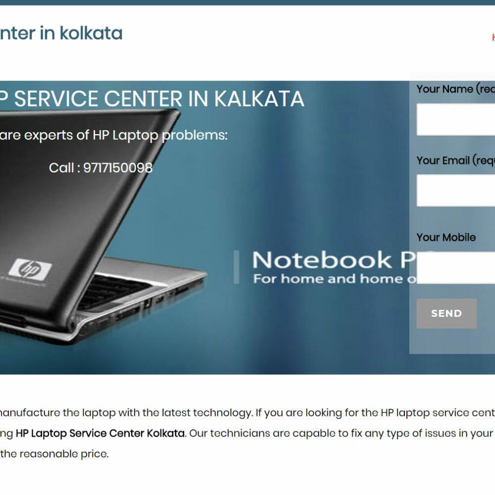 HP laptop service
